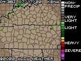 Nashville, TN Local Radar