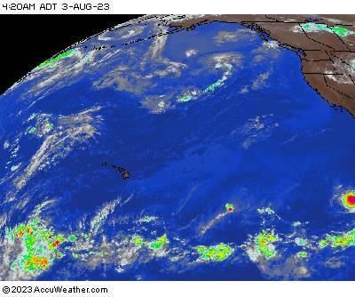 Northeast Pacific satellite image